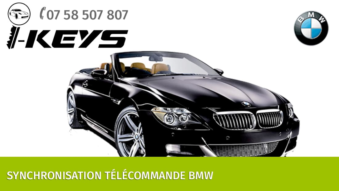 synchronisation t l commande bmw ikeys autos. Black Bedroom Furniture Sets. Home Design Ideas