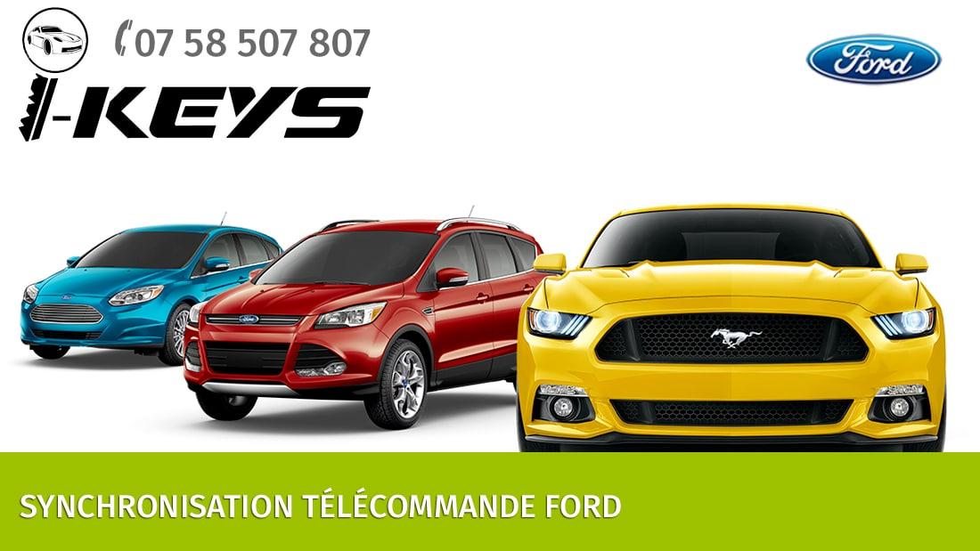 Synchronisation télécommande Ford