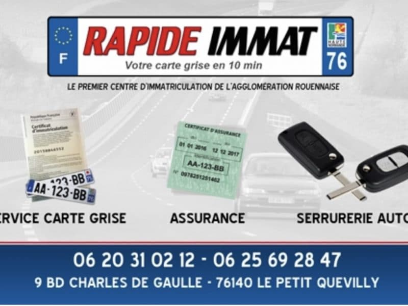 Rapide immat